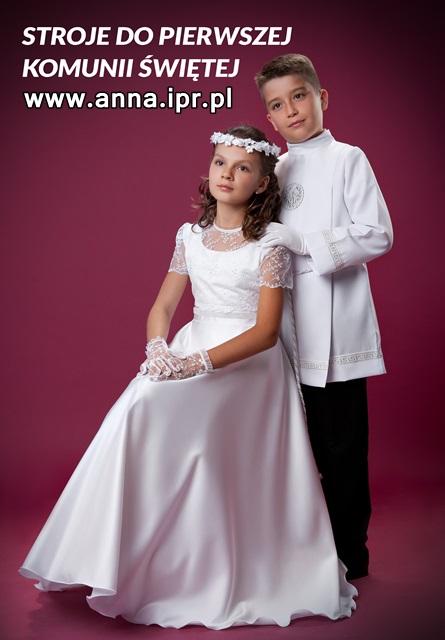 1f15570051 Sukienki komunijne - ANNA SALONY MODY ŚLUBNEJ I KOMUNIJNEJ - ANNA ...